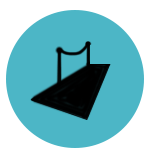 PPPB_Packages page_Optional extras_Red carpet, ropes and bollards icon